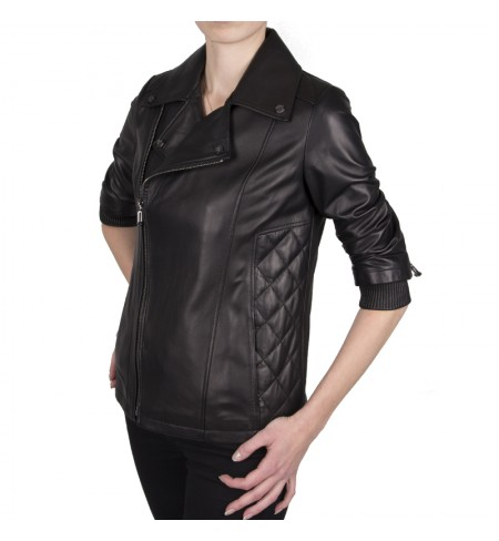 Black PHILIPP PLEIN Leather jacket