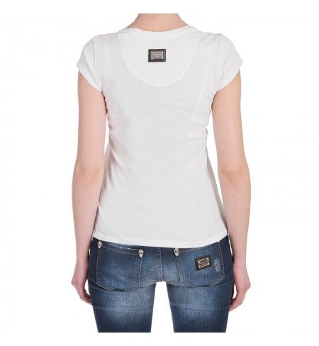The Princess White PHILIPP PLEIN T-shirt