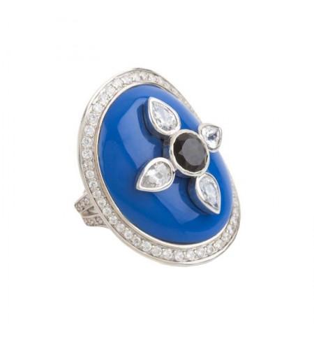 French Blue MIRIAM SALAT Ring