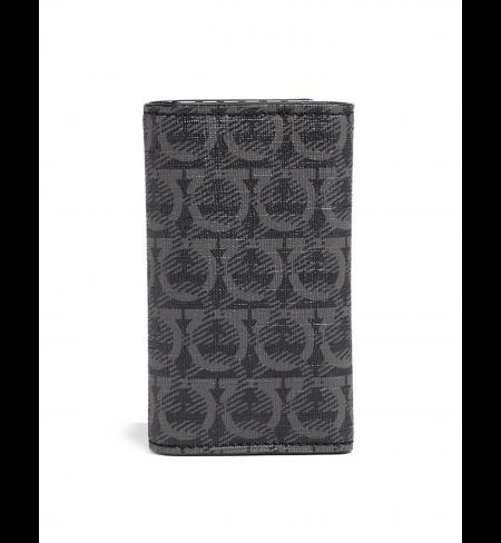 Black SALVATORE FERRAGAMO Кey wallet