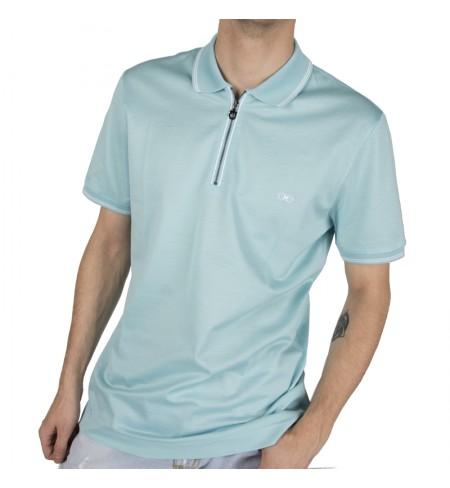 Cel/Bco SALVATORE FERRAGAMO Polo shirt