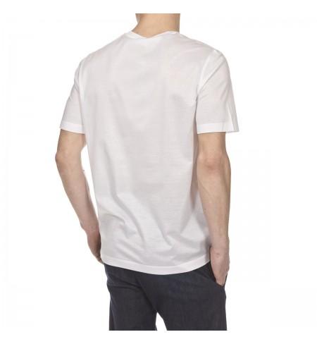 Bco Petrol SALVATORE FERRAGAMO T-shirt