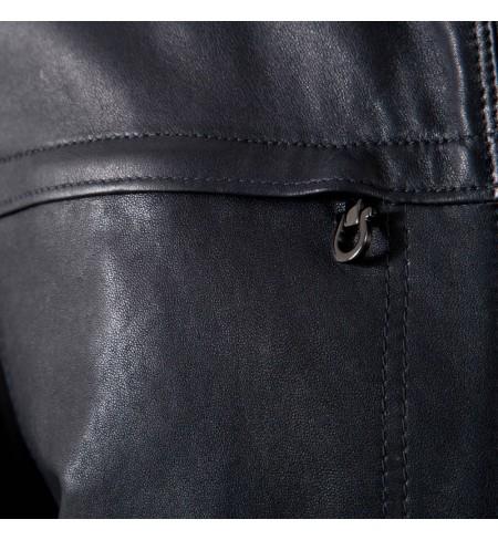 SALVATORE FERRAGAMO Leather jacket