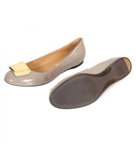 Shoes SALVATORE FERRAGAMO Grey Opal