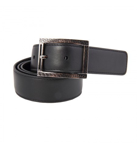 Black/Ruthenium VERSACE Belt