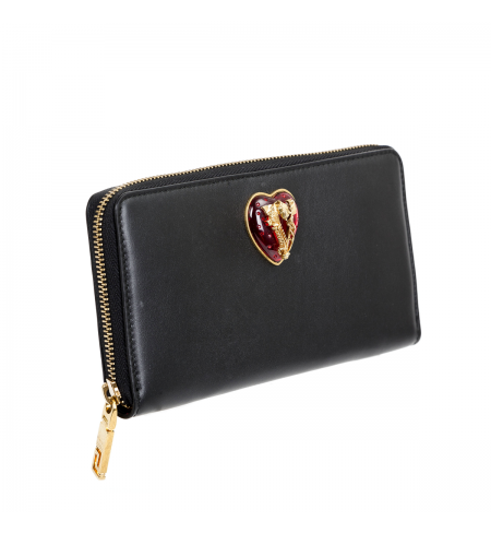 Black Tribute Gold VERSACE Wallet