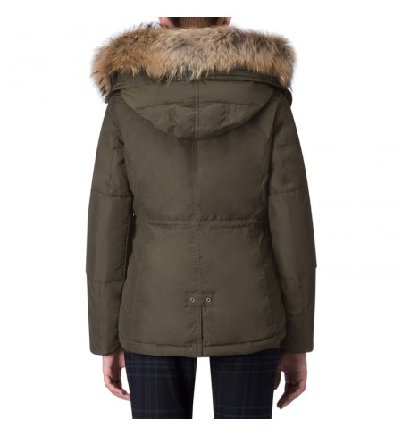 Dark Green WOOLRICH Down jacket