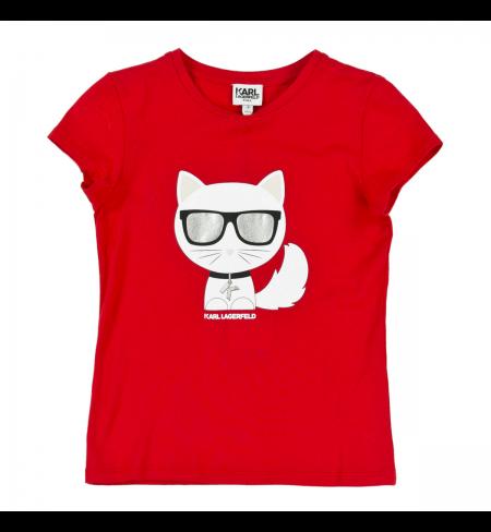Red KARL LAGERFELD T-shirt