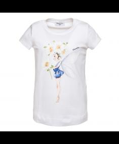 Bianco MONNALISA T-shirt