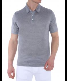 Blue CANALI Polo shirt