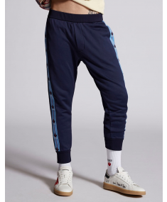 Navy Blue DSQUARED2 Sport trousers