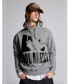 Dark Grey Melange DSQUARED2 Sport hoody