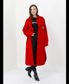 Rosso Fiamma E.ERMANNO SCERVINO Coat