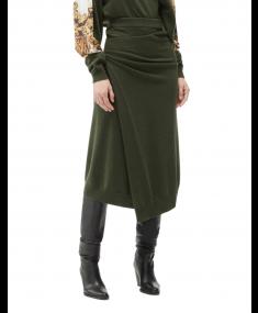 Dark Khaki KENZO Skirt