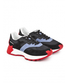 Blu Rosso DSQUARED2 Sport shoes