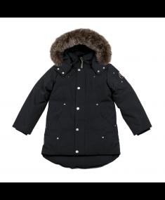 Black MOOSE KNUCKLES Jacket