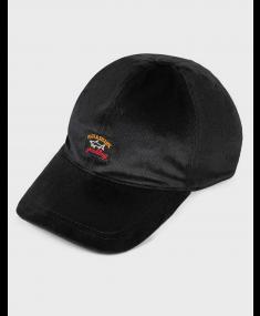 Black PAUL AND SHARK Baseball cap