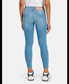 Degradable Blue ICEBERG Jeans