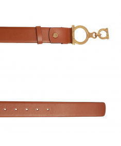 Brown Beige SALVATORE FERRAGAMO Belt