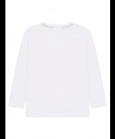 White HUGO BOSS T-shirt with long sleeves