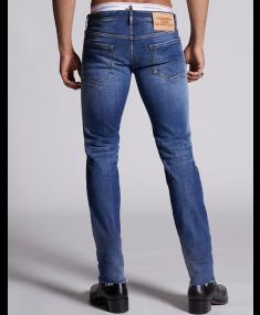 Pants 5 Po Navy Blue DSQUARED2 Jeans