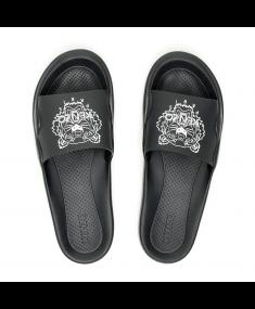 Black KENZO Flip Flops