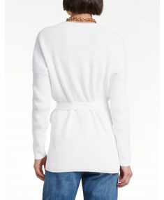 Optical White MAX MARA Cardigan