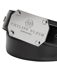 Black PHILIPP PLEIN Belt