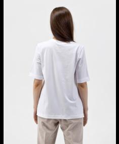 White PESERICO T-shirt