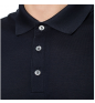 Navy SALVATORE FERRAGAMO Polo shirt