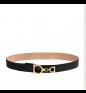 Black Beige SALVATORE FERRAGAMO Belt
