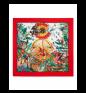 FOULARD JUNGLE Red PHILIPP PLEIN Kerchief