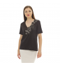 Black D.EXTERIOR Blouse