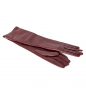 Burgundy SALVATORE FERRAGAMO Gloves