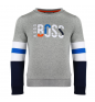 Grey Marl HUGO BOSS Jumper