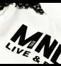 Panna Nero MONNALISA T-shirt with long sleeves