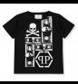 Black White PHILIPP PLEIN T-shirt