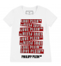 Tm White Red PHILIPP PLEIN T-shirt