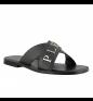 Black PHILIPP PLEIN Flip Flops