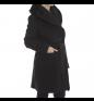 Black CINZIA ROCCA Coat