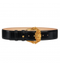Black Tribute Gold VERSACE Belt