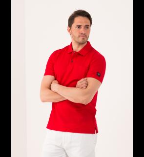 Рубашка поло PAUL AND SHARK Red