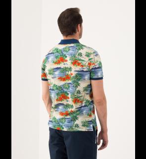 Рубашка поло PAUL AND SHARK Stampa Palme