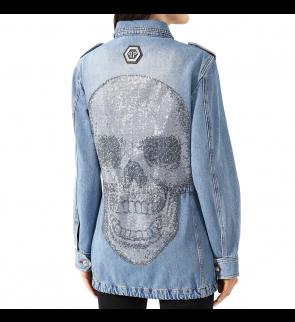 Джинсовая куртка PHILIPP PLEIN Marmaid