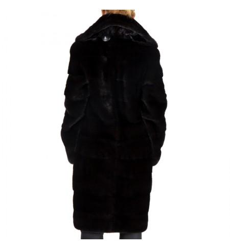 Шуба  меховая BRASCHI Black Nafa