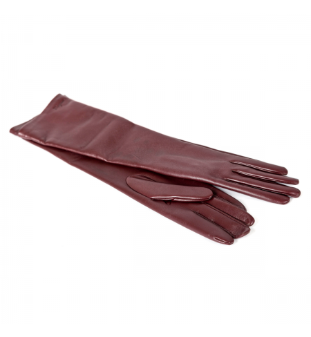 Перчатки SALVATORE FERRAGAMO Burgundy