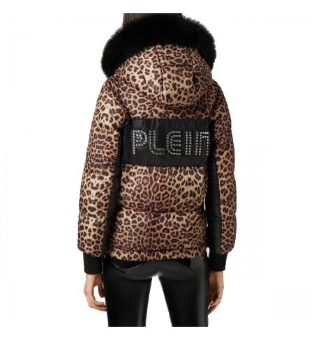 Пуховик PHILIPP PLEIN Leopard