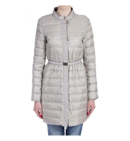 Пуховое пальто ARMANI COLLEZIONI Grigio