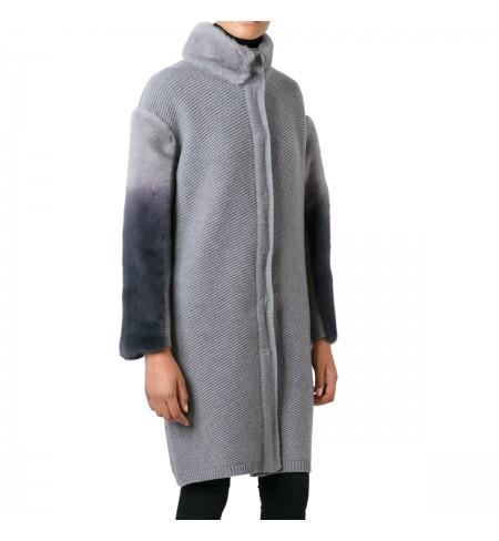 Пальто BLUGIRL Grigio Melange