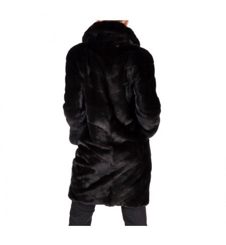 Шуба  меховая BRASCHI Black Nafa 40